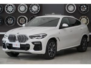 BMW X6 xDrive 35d Mスポーツ ミネラル・ホワイト プラスパッケージ 4ゾーンクライメートコントロール ドライビング・アシスト・プロフェッショナル 20インチMライト・アロイ・ホイール・スタースポーク・スタイリング740Mバイ・カラ