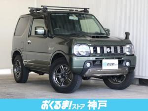 スズキ ジムニー ランドベンチャー 4WD 社外ナビ Bモニター 純正AW