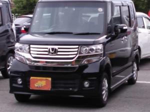 ホンダ N-BOXカスタム G メモリーナビ ワンセグ スマートキー HID 衝突安全ボディ バックモニター