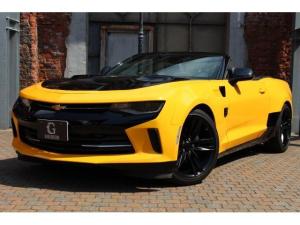 シボレーカマロ コンバーチブルLT RS 正規ディーラー車 ブラックソフトトップ トランスフォーマー仕様 AppleCarPlay&AndroidAuto シートヒーター シートベンチレーション