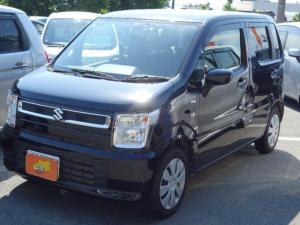 スズキ ワゴンR ハイブリッドFX 4WD シートヒーター 社外ナビ 社外TV バックカメラ アイドリングストップ