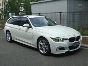 BMW 3シリーズ 320dツーリング Mスポーツ 純正ナビ Rモニター ETC キセンノンライト オートテールゲート インテリジェントセーフティ メモリー付パワーシート パドルシフト ACC アイドリングストップ