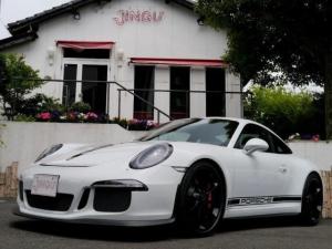 ポルシェ 911 911GT3 3.8 PDK ディーラー車 左ハンドル レザースポーツシート シートヒーター リフティングシステム PASM LEDヘッドライト スポーツハンドル アルミシフトノブ 純正20インチAW