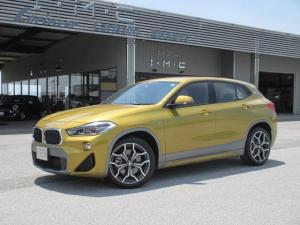 BMW X2 xDrive 20i MスポーツX アドバンスセーフティP 純正HDDナビ バックカメラ アダプティブクルーズコントロール インテリジェントセーフティ パークディスタンス オートテールゲート LEDヘッドライト スマートキー ヘッドアップディスプレイ ETC