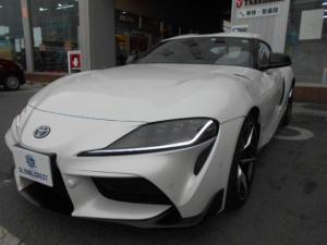トヨタ スープラ RZ 純正19インチAW・JBLプレミアムサウンドナビ・オプションレザーシート