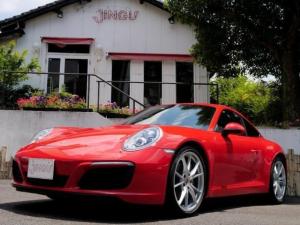 ポルシェ 911 911カレラ ディーラー車 左ハンドル スポーツクロノ スポーツエグゾースト PASM エンボス加工 LEDヘッドライト ブルメスターサウンド レザーインテリア シートヒーター パワーシート パドルシフト
