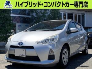 トヨタ アクア S フルセグSDナビ ETC キーレス Bluetooth接続 DVD再生 衝突安全ボディ 横滑り防止装置