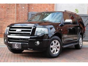 フォード エクスペディション リミテッド 2008yモデル ブルーフレーム物 新車並行 4WD ブラックレザー パワーバックドア 電動サンルーフ アルパイン製地デジHDDナビ フリップダウンモニター バックカメラ