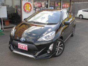トヨタ アクア X-アーバン ソリッド ナビTV Bluetooth スマートキー LEDヘッドランプ セーフティセンス オートハイビーム