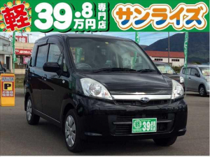 スバル ステラ L Black InteriorSelection 4WD