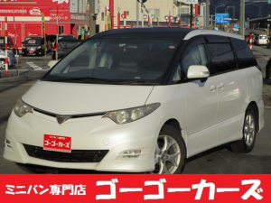 トヨタ エスティマ アエラスS 4WD サンルーフ 7人乗 両側パワースライド