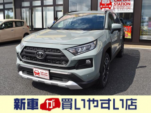 トヨタ RAV4 アドベンチャー 快適温熱シ-ト クリアランスソナ-