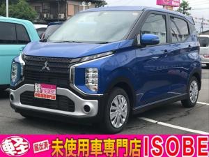 三菱 eKクロス M 届出済み未使用車 新車保証継承 LEDライト