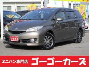 トヨタ ウィッシュ X 7人乗 4WD メモリナビ TV バックカメラ ETC