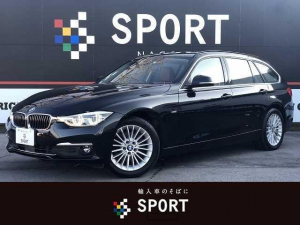 BMW 3シリーズ 320dツーリング ラグジュアリー 後期 純正ナビ ACC