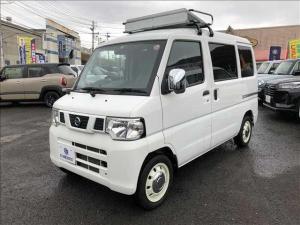 日産 NV100クリッパーバン DX ハイルーフ 移動式販売車 4WD ETC CDデッキ