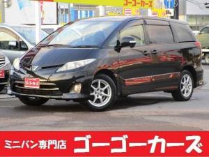 トヨタ エスティマ アエラス 4WD 左電動スライド オートクルーズ HID