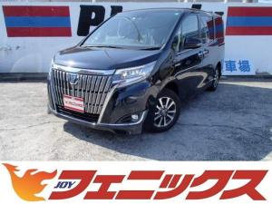 トヨタ エスクァイア HV-Gi10型フルセグBカメラ両電動LED軽減B黒革S禁煙