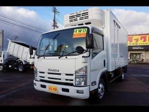 いすゞ エルフトラック 2t 4WD FFL ワイドロング 中温冷凍車