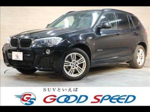 BMW X3 xドライブ20dMスポーツRHD4WD純正ナビ トップビュー