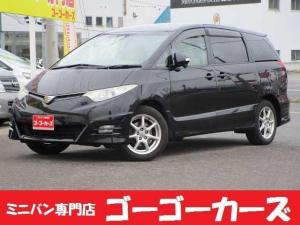 トヨタ エスティマ アエラスGエディション 4WD 両電動スライド バックカメラ