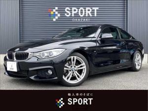 BMW 4シリーズ 420i M Sport 純正ナビ インテリセーフ ETC