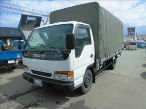 いすゞ エルフトラック 幌付 3t 幌付 最大積載量3000Kg