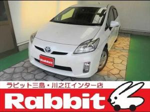 トヨタ プリウス ETC・ナビ・バックカメラ・オートエアコン・キーフリー