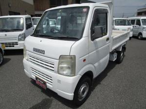 スズキ キャリイトラック 電動ダンプ 4WD エアコン 5MT