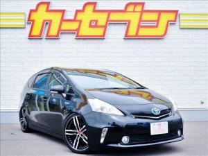 トヨタ プリウスアルファ S 車高調/社外19アルミ/社外HDDナビ/バックモニター