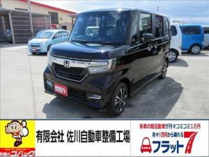 ホンダ N-BOXカスタム カスタムG・L ホンダセンシング 4WD 届出済未使用車