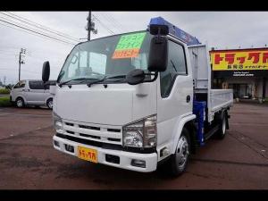 いすゞ エルフトラック 2.95t FFL 標準セミロング 4段クレーン付