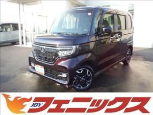 ホンダ N-BOXカスタム G・Lターボホンダセンシング4WDギャザーズ8インチナビ