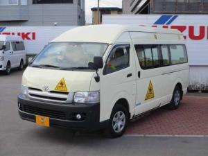 トヨタ ハイエースコミューター  ディーゼルターボDX 幼児バス 4WD バックカメラ
