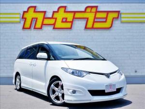 トヨタ エスティマ 2.4アエラス Gエディション ワンオーナー/純正HDDナビ