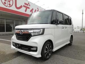 ホンダ N-BOXカスタム 2トーン G・L  Honda SENSING 片側電動ドア