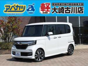 ホンダ N-BOXカスタム カスタム G・L ホンダセンシング 届出済未使用車軽自動車