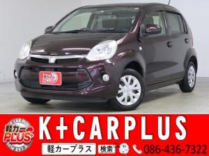 トヨタ パッソ X L package Kiriri キーフリー 純正ナビ
