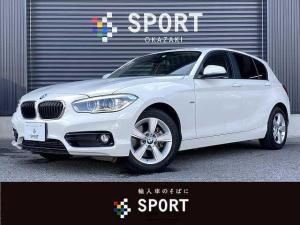 BMW 1シリーズ 118i スポーツ HDD ETC クルコン インテリセーフ