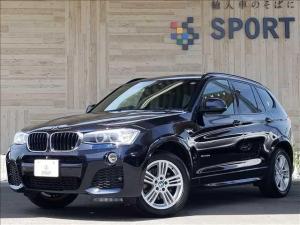 BMW X3 xDrive20d Mスポーツ 純正ナビTV 黒革 4WD