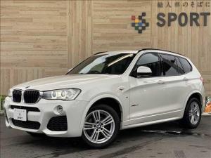BMW X3 xDrive20d Mスポーツ サンルーフ 純正ナビTV