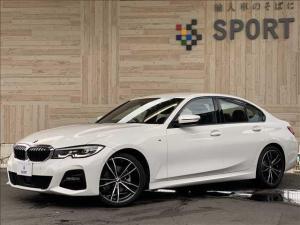 BMW 3シリーズ 320i Mスポーツ 黒革シート シートヒーター アクティブクルーズコントロール インテリジェントセーフティ 純正HDDナビ バックカメラ パワーバックドア コンフォートアクセス LEDヘッド ミラーインETC 純正AW