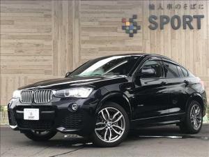 BMW X4 xDrive 28i Mスポーツ インテリジェントセーフティ 純正HDDナビ バックカメラ ハーフレザーシート パワーバックドア ドライブレコーダー コンフォートアクセス HIDヘッドライト 純正AW Bluetooth ETC