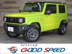 スズキ ジムニー XC セーフティサポート 標識認識 クルコン レーンキープ LED スマートキー フォグ 4WD 記録簿 シートヒーター