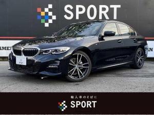 BMW 3シリーズ 320i アクティブクルーズコントロール インテリジェントセーフティ 純正HDDナビ バックカメラ 黒革シート シートヒーター コンフォートアクセス LEDヘッド ミラーインETC 純正アルミホイール