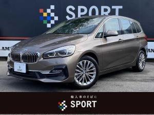 BMW 2シリーズ 218dグランツアラー ラグジュアリー インテリセーフ 純正ナビ Bカメラ パワーバックドア 本革 シートヒーター・メモリー コンフォートアクセス LED ETC 純正AW