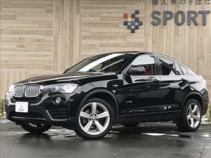 BMW X4 xDrive 28i インテリジェントセーフティ 赤革シート シートヒーター・メモリー クルーズコントロール パワーバックドア 純正HDDナビ フルセグ バックカメラ Bluetooth HIDヘッドライト 純正AW