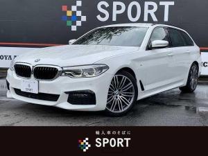 BMW 5シリーズ 530iツーリング Mスポーツ 530i ツーリングMスポーツ 本革 アクティブクルーズ インテリセーフ 純正ナビTV 全方位カメラ 全席シートヒーター パワーバックドア