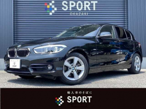 BMW 1シリーズ 118d スポーツ 純正HDDナビ・バックカメラ・ETC・プッシュスタート・アイドリングストップ・純正AW・8速AT・iドライブ・インテリジェントセーフティ・LEDヘッドライト