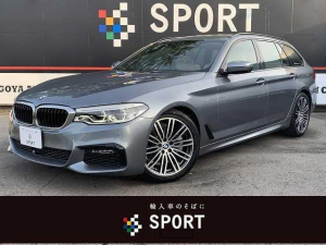 BMW 5シリーズ 523iツーリング Mスポーツ アクティブクルーズコントロール インテリジェントセーフティ 純正ナビ フルセグ 全方位カメラ 全席シートヒーター 本革 シートメモリー パワーバックドア LEDヘッド コンフォートアクセス 純正AW